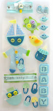 Baby boy embellishment stickers, Cardmaking, Crafts, Gifts, Decorations