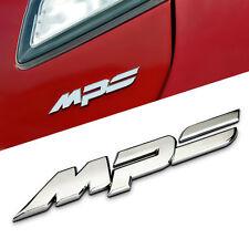 MPS Car Auto Motor Badge Emblem Sticker 100% 3D Metal Chrome for Mazda