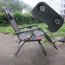 Portable Folding Camping Picnic Outdoor Beach Garden Chair Side Table for Drink