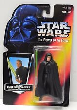 Star Wars POTF Luke Jedi Knight Red Card Kenner 1996 Action Figure NIP
