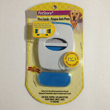 NEW PETSTORE 2 IN 1 DOG PUPPIES CAT KITTENS SMALL PET FLEA BUG FINE COMB