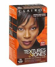 Clairol Textures - Tones Permanent Hair Color 1N Natural Black, 1 ea