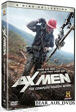 AX MEN 7 (2013-2014): AXE MEN SEVENTH TV Season Series - NEW 5 DVD Set UK
