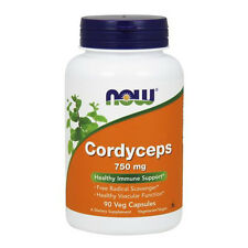 Cordyceps 750 mg 90 Veg Capsules - NOW Foods