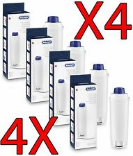 4X DELONGHI WATER FILTER ANTI LIMESTONE SOFTENER AUTHENTIC INTENSE ELETTA ETAM