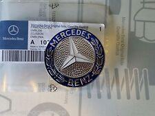 Mercedes  Benz Emblem Stern Firmenzeichen 107 SL und W 126 Coupe zum stecken NOS