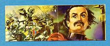 I GRANDI DELLA STORIA - Figurina/Sticker n. 211+212 -GIOVANNI DALLE BANDE N.-Rec