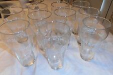 10 - VINTAGE NEW ORLEANS 1984 WORLD'S FAIR COCA-COLA GLASS SET LOT