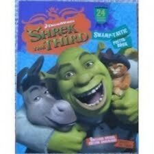 2PC SET Who Stole the Cookies Shrek the 3rd Poster Book plus FREE SHIPPING