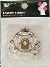 NEW IMAGINISCE CLEAR STAMP CARRIAGE PRINCESS FAIRY TALE STORYBOOK 000978