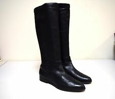 FRYE Black Glove Nappa Leather Knee High Riding Boots Size 7 M