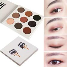 9 Colors Lady Eye Shadow Make Up Cosmetic Shimmer Matte Eyeshadow Palette Set HG
