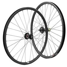 29er Carbon wheelset 27mm wide mountain bike wheels with Novatec 711-712 hub