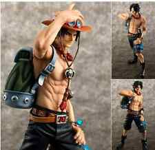 One Piece Portgas D Ace 10th Limited Ver. 1/8 P.O.P Anime Figure New in Box