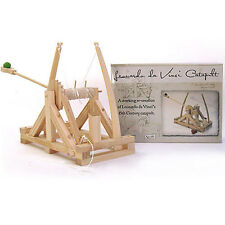 *NEW* Leonardo Da Vinci Catapult Wooden Construction Craft Kit - Siege Engines