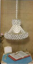 Hanging Button Swag Lamp Pattern #SH2 Macrame School House Vol. 2