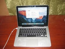 "Apple MacBook A1278 13.3"" Laptop MB466LL 2008 Core 2 Duo 2.0 2gb 200gb"