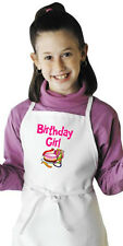 Children's Party Apron Birthday Girl Kids Cooking Aprons by Coolaprons