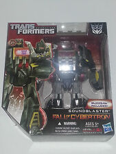 TRANSFORMERS - SOUNDBLASTER - Generations Fall of Cybertron - Voyager Class