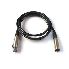 180cm XLR Cavo maschio a femmina Schermato Microfono Audio Prolunga HDMI Cavi