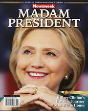 """NEWSWEEK MADAM PRESIDENT HILLARY CLINTON PHOTO POSTER OF COVER 5"""" x 7"""" (NOT MAG)"""