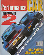 Performance Car 01/1994 featuring VW Corrado VR6, Porsche, Vauxhall, Litchfield