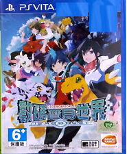 New Sony PS Vita Game Digimon World Next Order Asia HK Version Chinese Subtitle