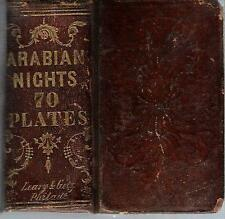 DEFECTIVE 1850s illustrated ARABIAN NIGHTS ENTERTAINMENTS Leary & Getz 2v-in-1
