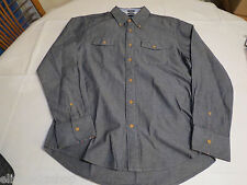 Tommy Hilfiger dress shirt long sleeve 7839185 Black Iris 002 Slim Fit S Mens