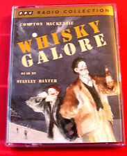 Compton Mackenzie Whisky Galore 2-Tape Audio Book Stanley Baxter WW2 Farce