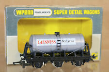 WRENN W5003 BR GUINNESS 6 WHEEL TANK WAGON PAINTED TANK DECAL LABEL CARD INSERT