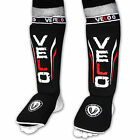 VELO Shin Instep Pads MMA Leg Guards Foot Muay thai kick Boxing Guard Protectors