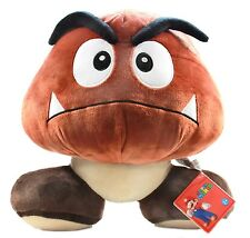 "Nintendo Super Mario Brothers Goomba 5 "" Tall Plush Doll Toy Brand New CJ461"