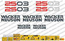 NEUSON 2503 BAGGER-AUFKLEBER-AUFKLEBER-SATZ