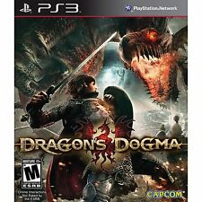 PS3 Games Dragon's Dogma Brand New & Sealed