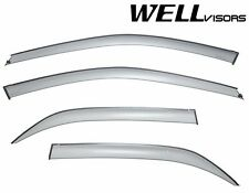 WellVisors SLEEK HD Side Window Visors Deflectors For 98-02 Honda Accord 4Dr