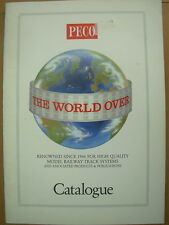 PECO 1992 MODEL RAILWAY CATALOGUE
