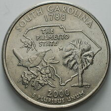 "1999-2009   USA  State   Quarter  dollar   ""South Carolina"""