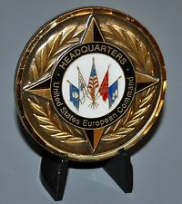 US European Command EUCOM Chief of Staff 3 Star Challenge Coin