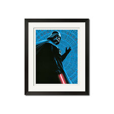 Darth Vader Inspired by Star Wars The Empire Strides Back Poster Print
