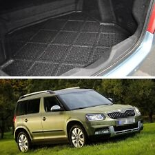 Waterproof Car Boot Cargo Trunk Mat Liner Tray Fit for Skoda Yeti 2014-2015