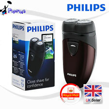 NEW Genuine Philips PQ206 Electric Men Shaver Razor Two Floating Heads Battery