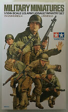 Tamiya 35192 U.S Army Assault Infantry Set 1/35 Model Kit NIB