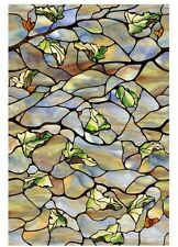 Vista Decorative Window Film, Artscape 24 in x 36 in Privacy Stained Glass Cling