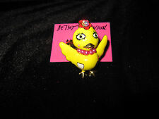 Betsey Johnson GARDEN PARTY CHICK STRETCH RING SIZE 7 1/2