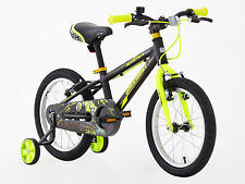 Greenway boys 16 inch Alloy Bike with support wheel, hi spec,3-6 Years