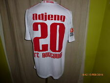 Fc Augsburg doyou Football matchworn camiseta 2009/10 + nº 20 ndjeng talla m