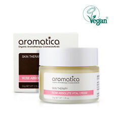 AROMATICA Rose Absolute Vital Cream 50g soften&deeply moisturize dry&rough skin