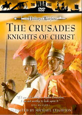 THE HISTORY OF WAR THE CRUSADES KNIGHTS OF CHRIST NEW DVD  MILITARY PROGRAMME