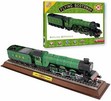 FLYING SCOTSMAN * 3D PUZZLE 165 pcs * 61x12X13cm  Construction Train Locomotive